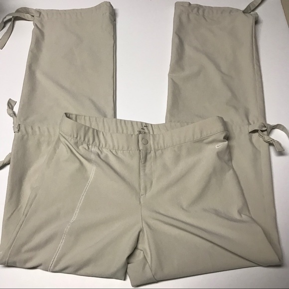 848054c0df Nike Pants | Womens Drifit Yoga Knee Tie Sz S 46 | Poshmark